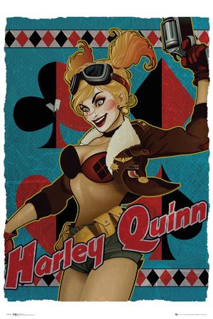 DC Bombshells- Harley Quinn Pósters