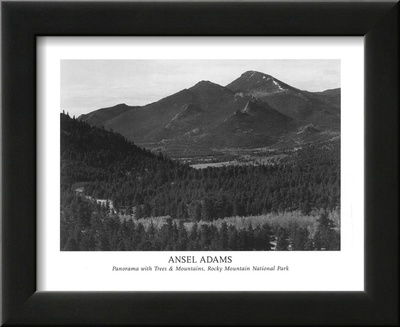 Rocky Mountain National Park Posters by Ansel Adams