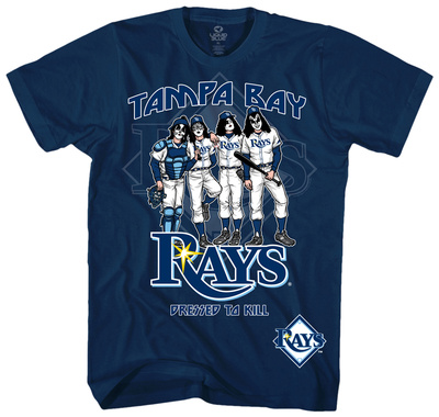 MLB/Kiss-Kiss/Rays Dressed T-Shirt