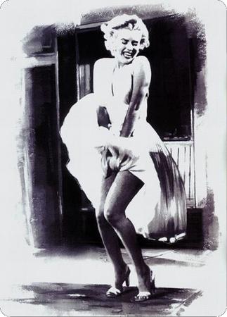 Marilyn Dress Tin Sign