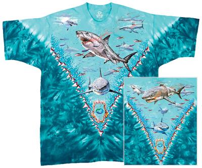 Nature-Great White Sharks Shirt