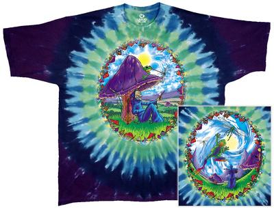 Fantasy-Mushroom Haven T-shirts