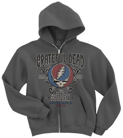 Grateful Dead-Amer Music Hall Zip Hoodie Zip Hoodie