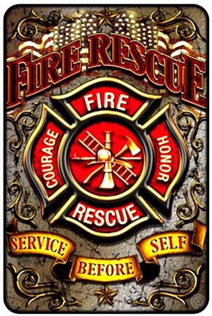 Fire Reserve Ember Tin Sign