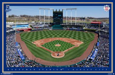 Kansas City Royals - Kauffman Stadium 15 Prints