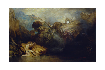 Apollo and Python Giclee Print by Joseph Mallord William Turner