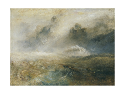 Rough Sea with Wreckage Giclee Print by Joseph Mallord William Turner