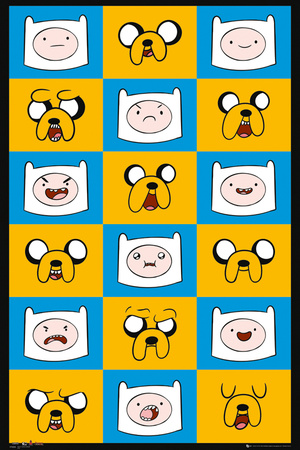 Adventure Time Expressions Prints