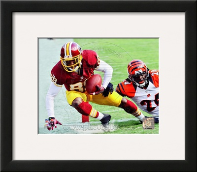 Santana Moss 2012 Action Framed Photographic Print