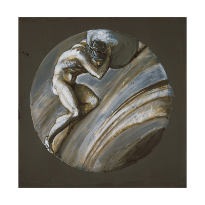 Sisyphus Giclee Print by Sir Edward Coley Burne-Jones
