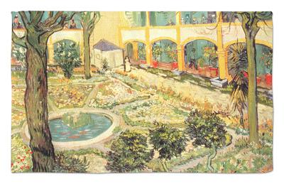 The Asylum Garden at Arles, c.1889 Alfombrilla