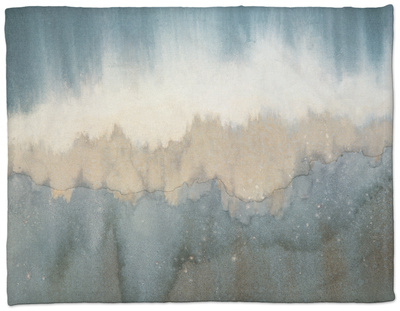 Rhythm of Light Fleece Blanket by Yunlan He