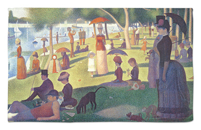 A Sunday on La Grande Jatte 1884, 1884-86 Rug by Georges Seurat