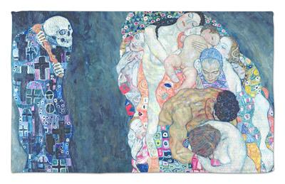 Death and Life, circa 1911 Rug by Gustav Klimt