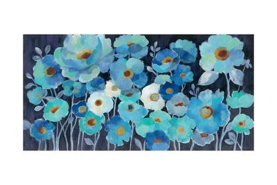 Indigo Flowers Posters by Silvia Vassileva