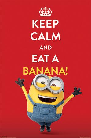 Minions (Keep Calm) Affischer