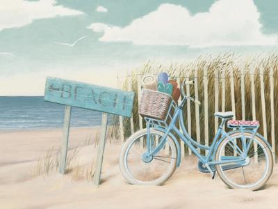Beach Cruiser II Crop Print by James Wiens