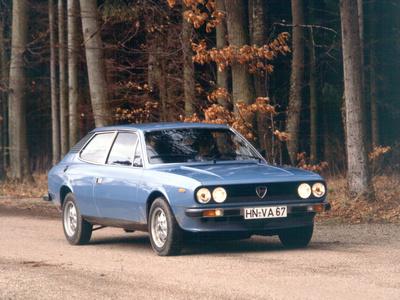 Lancia Beta HPE Photographic Print by Hans Dieter Seufert