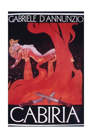 Movie Poster Cabiria Giclee Print