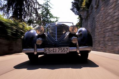 Lancia Astura Cabrio Photographic Print by Uli Jooss