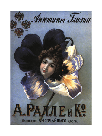 Advertising Poster for the Perfumes Ralle Giclee Print