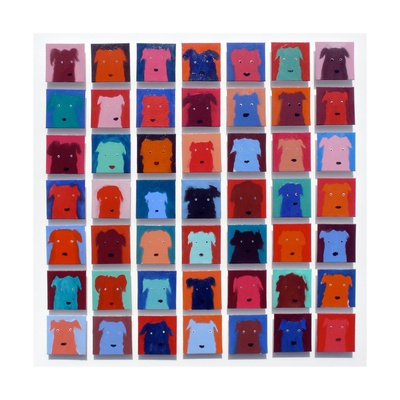49 Dogs, 2012 Giclee Print by Holly Frean