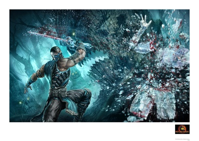 Sub Zero Collectable Print