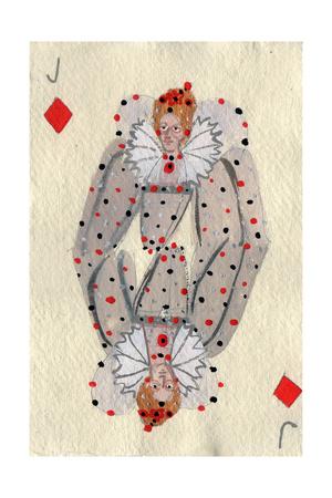 Elizabeth I, 2015 Giclee Print by Holly Frean