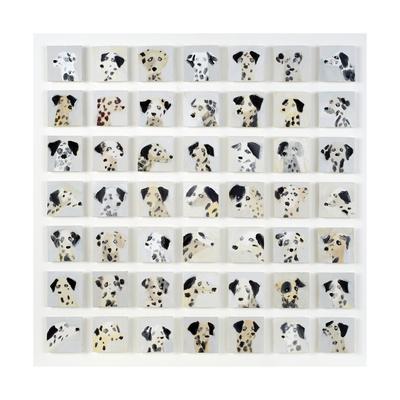 49 Dalmatians, 2015 Giclee Print by Holly Frean