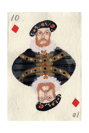 Henry VIII, 2015 Giclee Print by Holly Frean