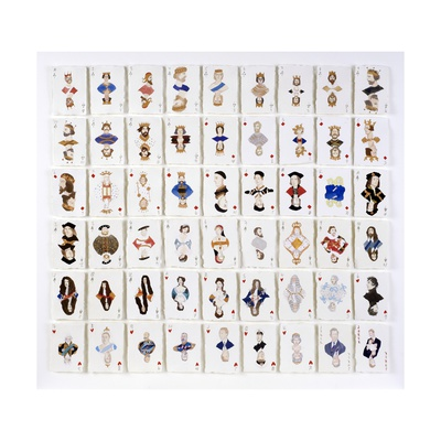 A Pack of British Kings and Queens, 2015 Giclee Print by Holly Frean