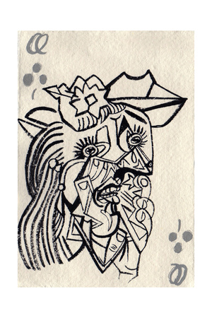 Weeping Woman, after Picasso, 2015 Giclee Print by Holly Frean