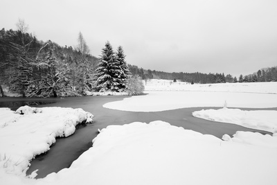 Cold Flow Photographic Print by Philippe Sainte-Laudy