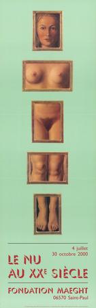 L'Evidence Eternelle Prints by Rene Magritte