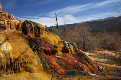 Pinkerton Hot Springs, Animas Valley Photographic Print by David Wall
