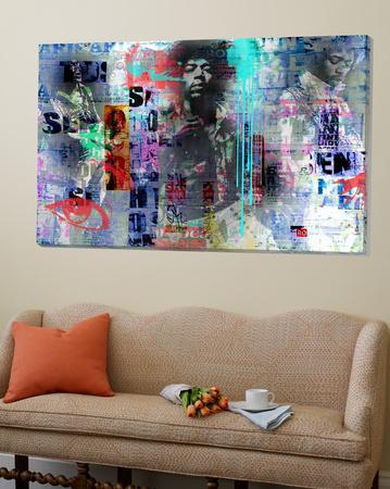 Jimmy Hendrix Prints by Micha Baker