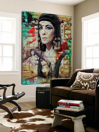 Cleopatra Prints by Micha Baker