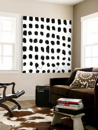 Black and White E Posters by Franka Palek