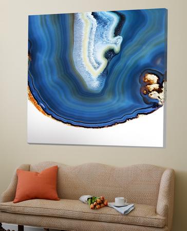 Cobalt Blue Agate A Posters by  GI ArtLab