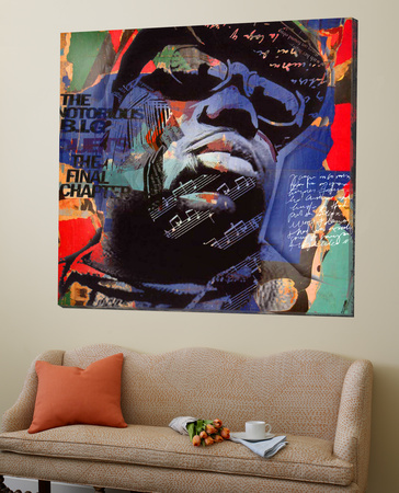 The Notorious BIG Poster by Micha Baker