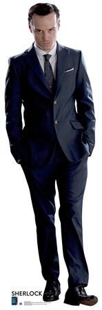 James Moriarty - Sherlock Lifesize Standup Cardboard Cutouts