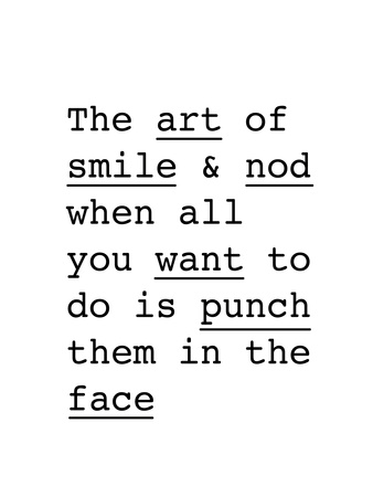 The Art of Smile and Nod Posters by Brett Wilson