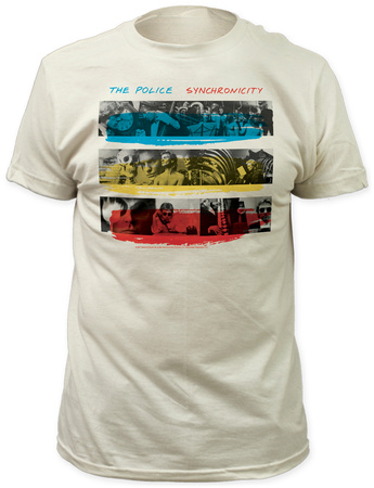 The Police - Synchronicity Shirts