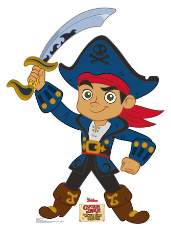 Captain Jake - Disney Junior Neverland Pirates Lifesize Standup Cardboard Cutouts