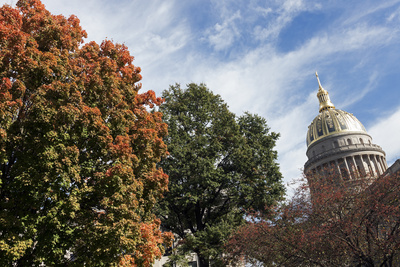 Charleston - State Capitol Building Photographic Print by  benkrut