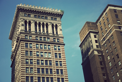Old Architecture of Pittsburgh Photographic Print by  benkrut