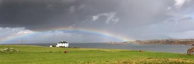 Rainbow, Island of Iona, Scotland Photographic Print by  Design Pics Inc