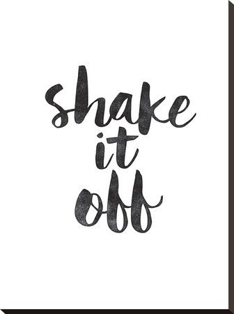 Shake it Off Stretched Canvas Print by Brett Wilson