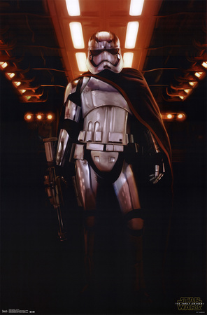 Captain Phasma Star Wars 7 VII poster art merchandise