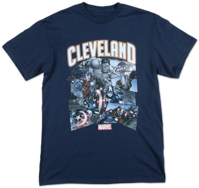Cleveland Cavaliers- Avengers Shirts